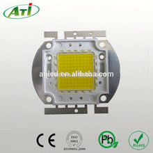 50w cob led bridgelux chip,110~120LM/W 50W LED chip, ISO9001 LED chip factory approved