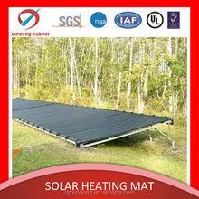 black pvc solar swimming pool heater