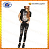 Custom 100% Cotton Ripped Black Skinny Jeans/Sex Skinny Jeans Girls from Alibaba China