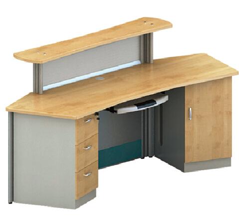 bureau table de comptoir m lamine stratifi r ception de table bureau m lamine. Black Bedroom Furniture Sets. Home Design Ideas