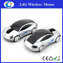 Custom Printing Sports Car Shape Wireless Mouse for Corporate Clients