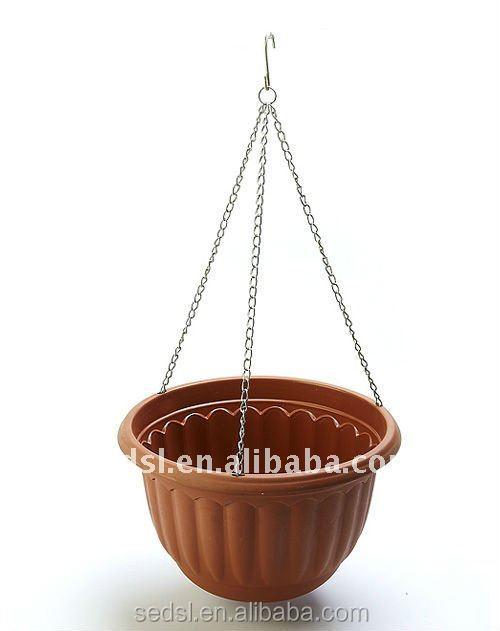 Hanging Flower Baskets Supplier : Cheap hanging basket supplier planter pot plastic