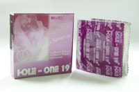 Competitive price natural latex ribbed Hold One 19 Multi-sensation Condom