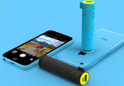 Made in China 2 in 1 portable charger mini 2000 2200 2600 mAh lipstick stick power bank charger with suction cup