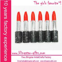 crystal promotional lipstick pen
