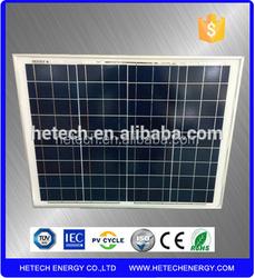 50watt Yingli cell 12V solar panel /solar panel price list