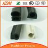 waterproof silicone rubber foam strip/rubber seal strip