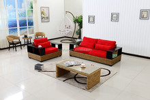 Pest and Fungus Free handmade natural sofa set for hotel lobby