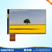 china wholesale 3.5 ich car lcd monitor with sun shade hdmi input