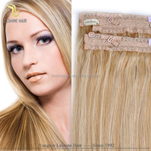 Alibaba Golden Supplier Remy Soft Silky Smooth Wholesale women fish wire hair