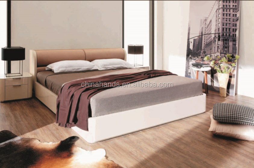 wooden furniture box beds. Latest Furniture- Wooden Box Bed Design. Solid Wood Frame+ Leather Upholstered High Headboard. 13.jpg Furniture Beds N