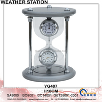 Newest Metal Weather Station Barometer Decor YG407
