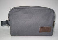 promotional travel canvas cosmetic bag