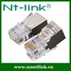 Netlink telephone modular plug stp 6p4c rj45 shielded