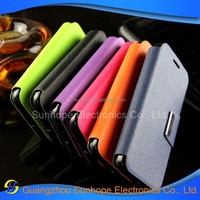 Wholesale Alibaba Leather Wallet Protective Phone Cover for Alcatel One Touch Pixi 3(4.5) OT-4027N case