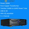 SASION 198D hifi professional 5.1 amplifier with usb port audio amplifier