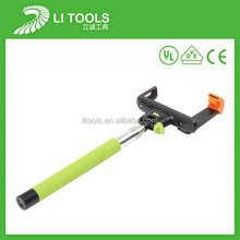 Impeccable promotional cheap bluetooth selfie stick wired extendable baton z07-5