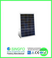 2015 New 17.7V 60W Poly Solar Pancels high quality for European america russina use SFP7036