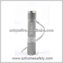1w 1mode led keyring flashlight / torch light