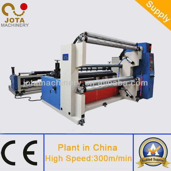 Couper le papier de verre et machine enrouler en usine - Machine a couper le verre ...