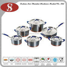 12Pcs New style eco friendly russian cookware