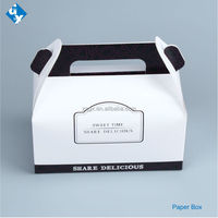 Cookie box paper pack food box cup cake box