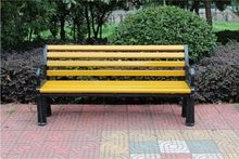 antique style long life time high quality wooden old garden bench
