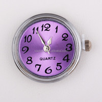Wholesale Ginger Snaps Jewelry 20PCS/Lot 4colors Crystal Snap Button Watch Charms Jewelry (Vn-310*20) Free Shipping