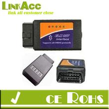 Linkacc-Th153 ELM 327 Bluetooth Obdii Obd2 Diagnostic Scanner, Elm327 Wireless OBD 2 Scan Tool Check Engine Light CAR Code Reade