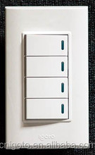 modular homes led push button switch