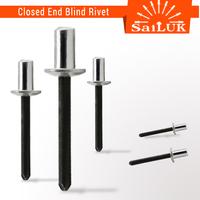 Aluminum steel waterproof closed end blind rivet