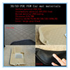 cheap factory price car accessory PU material HD and LD plastic materials 2014 factory hot selling pvc car mat raw material