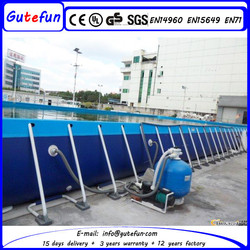 best price the most strongest safety swim pool for commercial rental