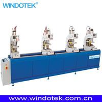 upvc Window and Door Profile Four Head Welding Machine SHZ4-120x4500
