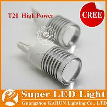 High Power Car led lights t20 w21/5w 7443 led Brake Light