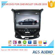 8 inch car dvd audio navigation system for CHEVROLET CRUZE 2015 with touch screen,wireless rearview camera