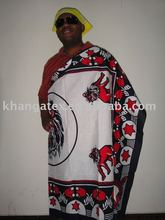 khangas/cotton fabrics/africa traditional clothes
