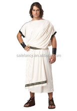 mens carnival costumes plus size toga roman warrior costumes QAMC-2280
