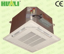 HUALI ce certified chilled water 4pipe ceiling floor type fan coils