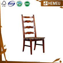 Foshan durable Chinese wood furniture dining room chairs sale