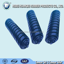 Carbon steel pipe conveyor belt trough roller