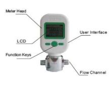 mass flow meter, air flow meter