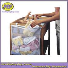 comodino letto usa basso prezzo sacchetti di immagazzinaggio netto per i vestiti del bambino ryb026