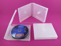Hot sale plastic blank cd dvd storage box blank dvd cases