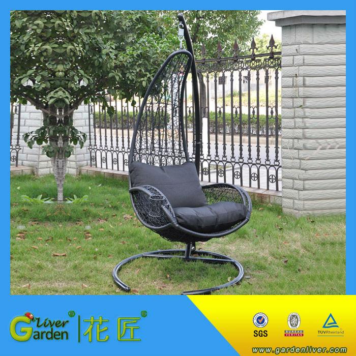 Garden Swing Chair Indoor Outdoor Round Swing Chair Patio Bird Nest ...