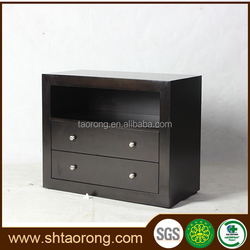 Chinese MDF modern nightstand furniture with drawers