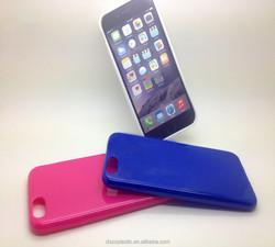 Soild color factory price diamond mobile phone case for 6g