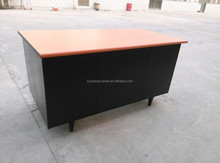 Office desk with single pedestal