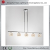 new design chrome color G9 broken glass chandelier lamp for home