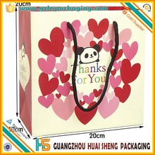 Wholesale Custom Printed Cheap Popular Colorful Paper Gift Bags for shopping